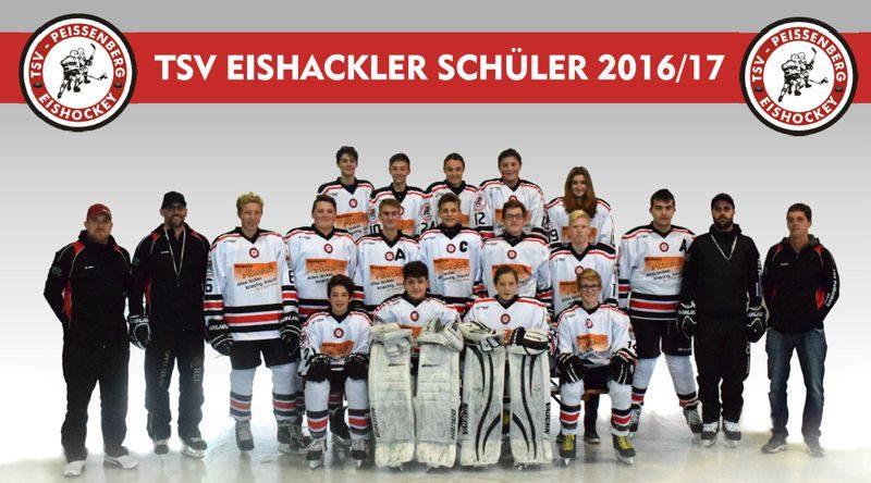 Erfolgreiche Saison der Eishackler-Schülermannschaft durch professionelles Training