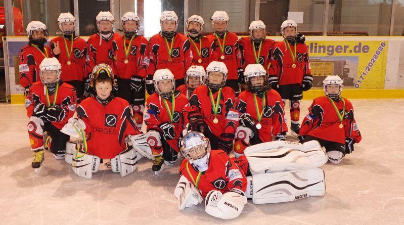 Kleinstschüler (U10) wieder erfolgreich auf dem 2. Platz