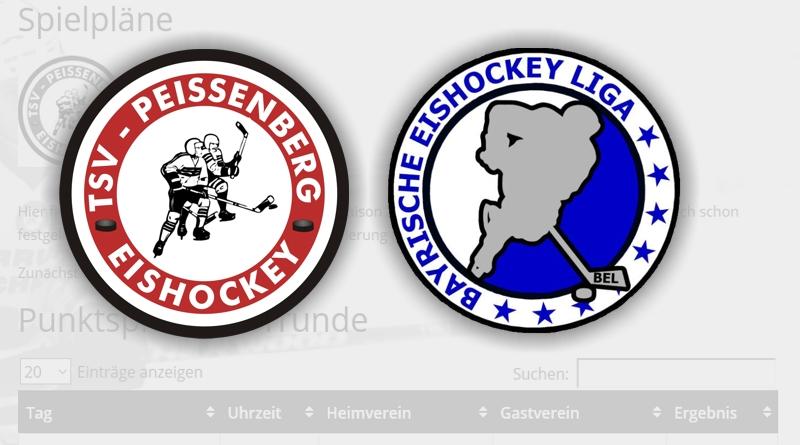 Vorrundenspielplan ist Online bei www.eishackler.tsv-eishockey.de