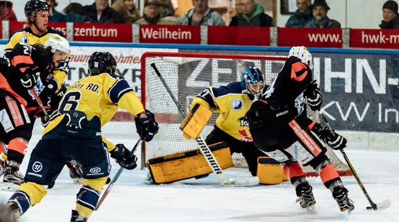 Eishackler siegen 4:2 gegen Pfaffenhofen im ersten Punktspiel