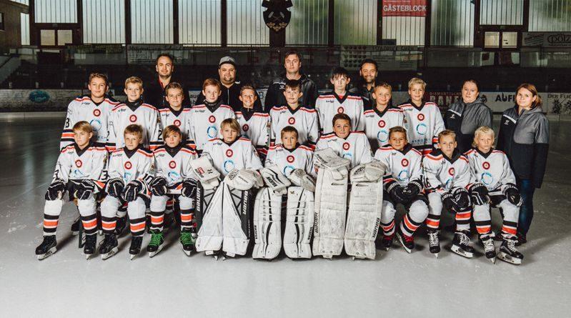 U12 Eishackler sind beim Meisterschaftsturnier in Passau dabei