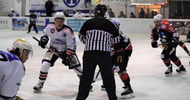 Effizienz schlägt dezimierte Eishackler – 6:3 Niederlage in Bad Kissingen