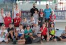 Bilder vom Training der U11 mit DEL-Profi Dominik Bittner