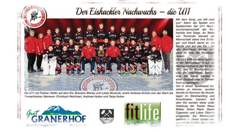 """U11 – Vorstellung im Kreisboten """"We will rock you"""""""