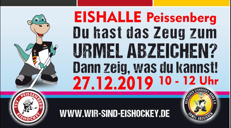 Mit dem Urmel-Abzeichen in die Eishockey-Karriere